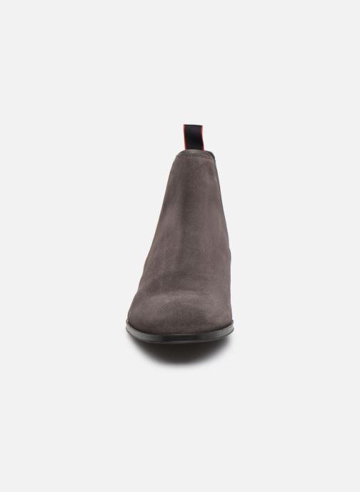 Bottines et boots Hugo Boheme_Cheb_sd Gris vue portées chaussures