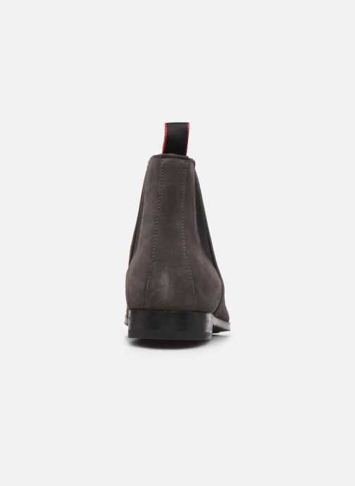 Bottines et boots Hugo Boheme_Cheb_sd Gris vue droite
