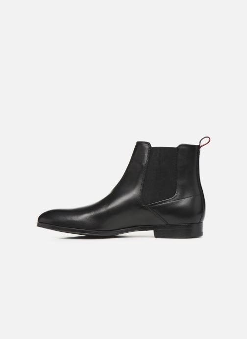 Bottines et boots Hugo Boheme_Cheb_ltst Noir vue face