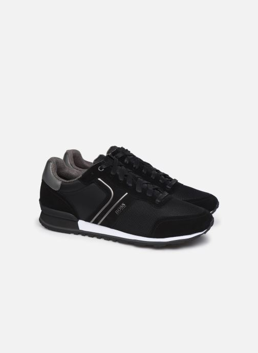 Sneakers BOSS Parkour_Runn_nymx2 10214574 01 Nero immagine 3/4