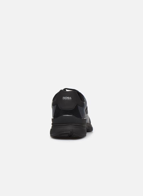 Baskets BOSS Velocity_Runn_logo2 10212274 01 Noir vue droite