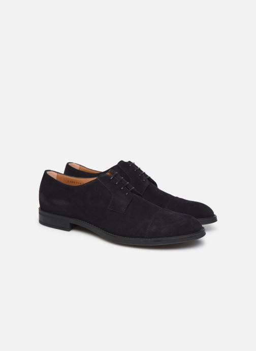 Chaussures à lacets BOSS Coventry_Derb_sdwr 10212392 01 Gris vue 3/4