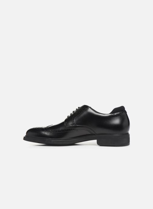 Lace-up shoes BOSS Firstclass_Derb_ltbg 10209087 01 Black front view