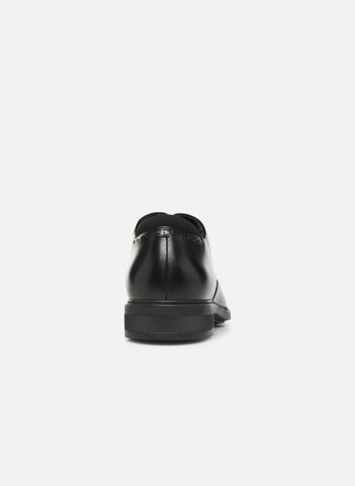 Lace-up shoes BOSS Firstclass_Derb_ltbg 10209087 01 Black view from the right
