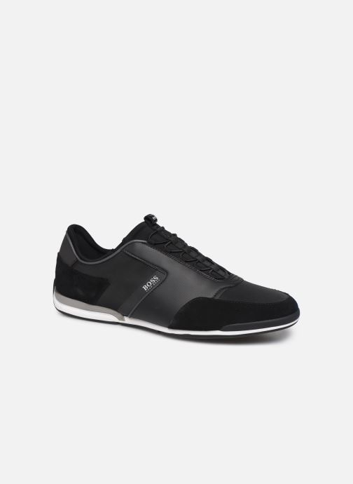 Trainers BOSS Saturn_Slon_nymx 10219013 01 Black detailed view/ Pair view