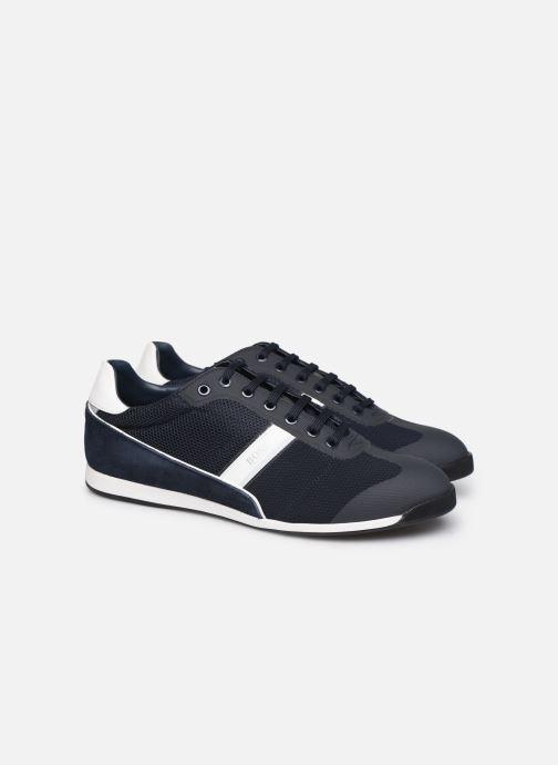 Sneakers BOSS Glaze_Lowp_mewt 10220062 01 Grijs 3/4'