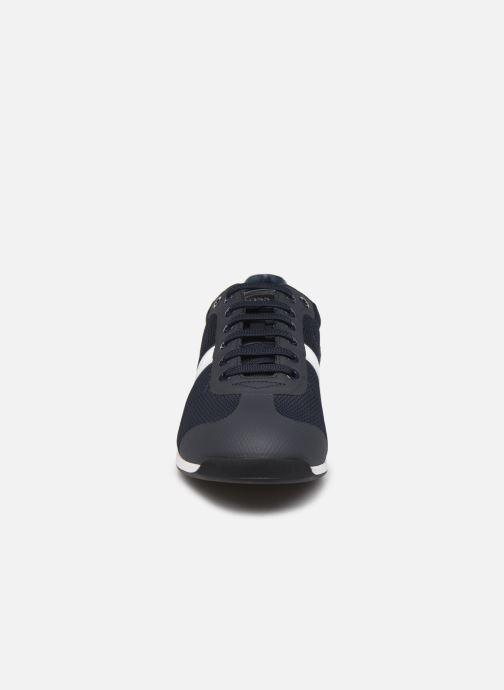 Baskets BOSS Glaze_Lowp_mewt 10220062 01 Bleu vue portées chaussures