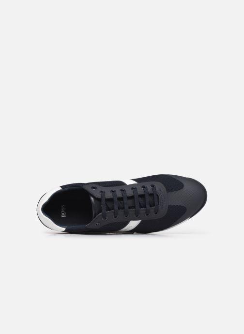 Sneakers BOSS Glaze_Lowp_mewt 10220062 01 Grijs links