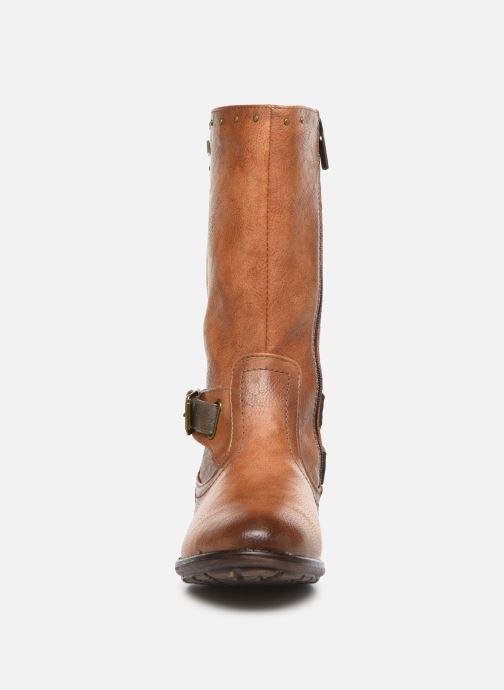 Bottes Mustang shoes 5043610 Marron vue portées chaussures