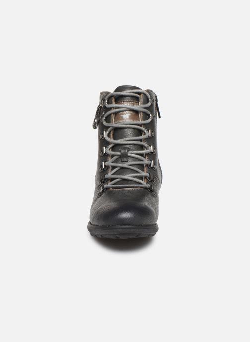 Bottines et boots Mustang shoes 5043609 Gris vue portées chaussures