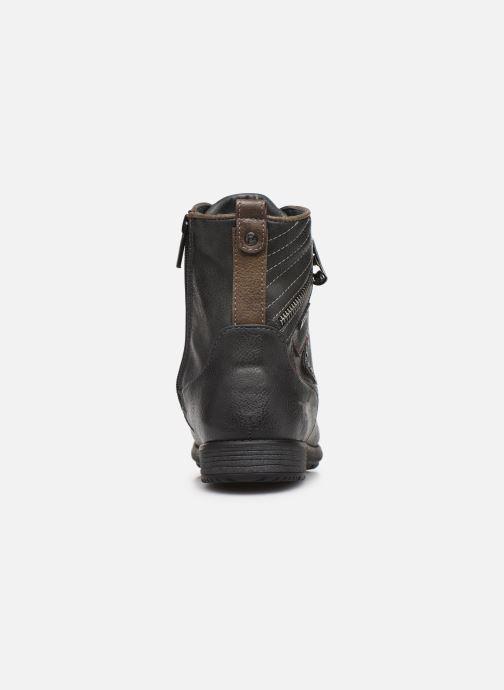 Boots en enkellaarsjes Mustang shoes 5043609 Grijs rechts