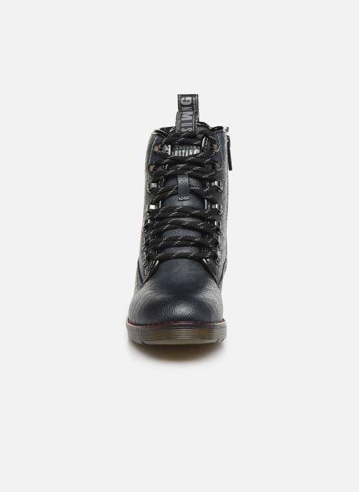 Boots en enkellaarsjes Mustang shoes 5055602 Blauw model