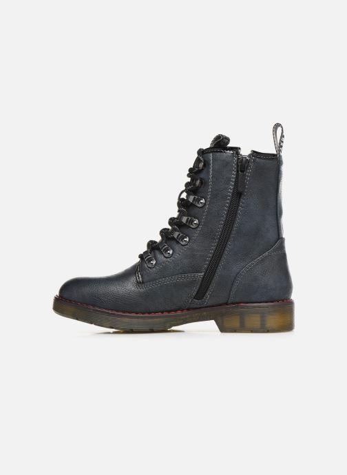Boots en enkellaarsjes Mustang shoes 5055602 Blauw voorkant
