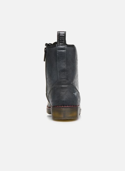 Boots en enkellaarsjes Mustang shoes 5055602 Blauw rechts
