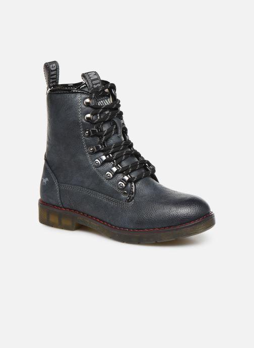 Boots en enkellaarsjes Mustang shoes 5055602 Blauw detail