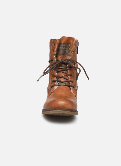 Bottines et boots Mustang shoes 5026619 Marron vue portées chaussures