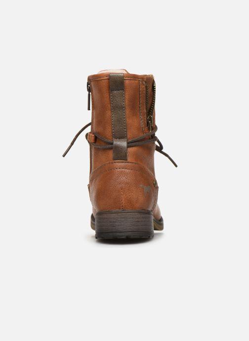 Bottines et boots Mustang shoes 5026619 Marron vue droite