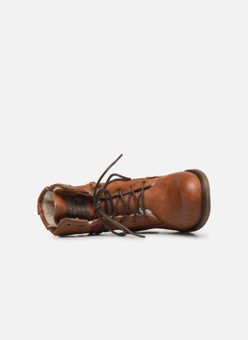 Boots en enkellaarsjes Mustang shoes 5026619 Bruin links