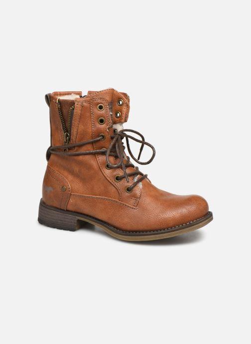 Bottines et boots Mustang shoes 5026619 Marron vue détail/paire