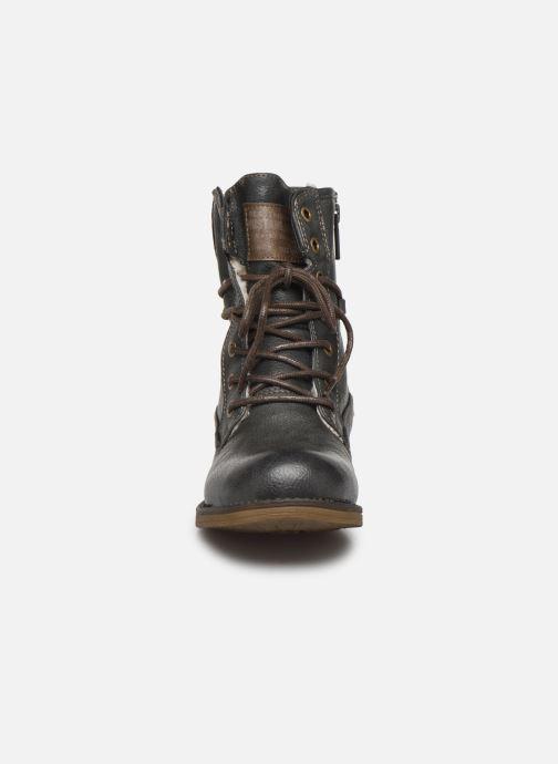 Bottines et boots Mustang shoes 5026619 Gris vue portées chaussures