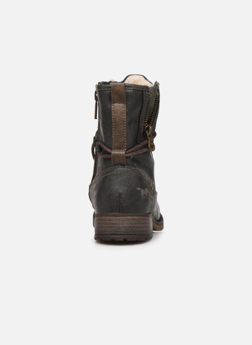 Bottines et boots Mustang shoes 5026619 Gris vue droite