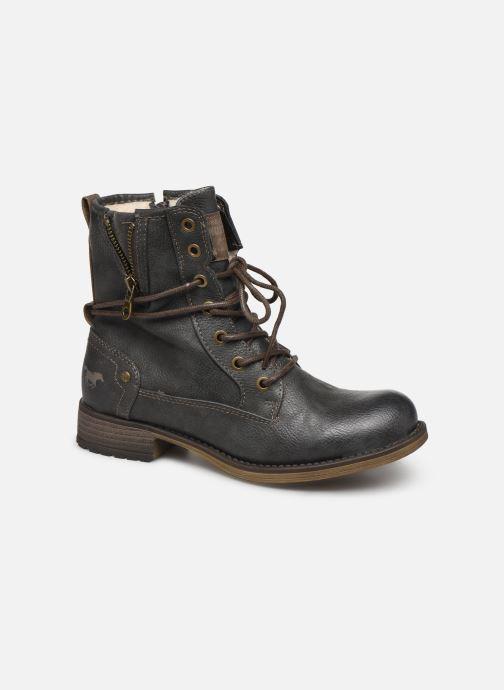 Bottines et boots Mustang shoes 5026619 Gris vue détail/paire