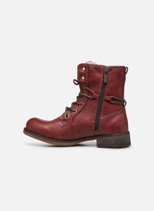 Bottines et boots Mustang shoes 5026619 Rouge vue face
