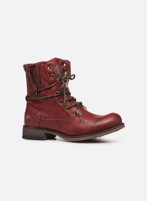 Bottines et boots Mustang shoes 5026619 Rouge vue derrière