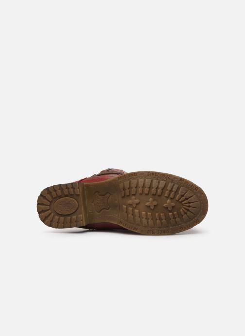 Bottines et boots Mustang shoes 5026619 Rouge vue haut
