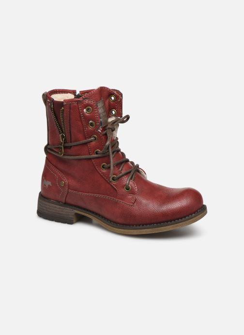 Boots en enkellaarsjes Mustang shoes 5026619 Rood detail