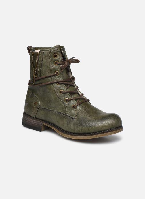 Boots en enkellaarsjes Mustang shoes 5026619 Groen detail