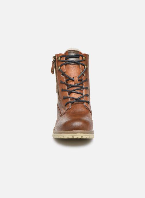 Bottines et boots Mustang shoes 5051608 Marron vue portées chaussures