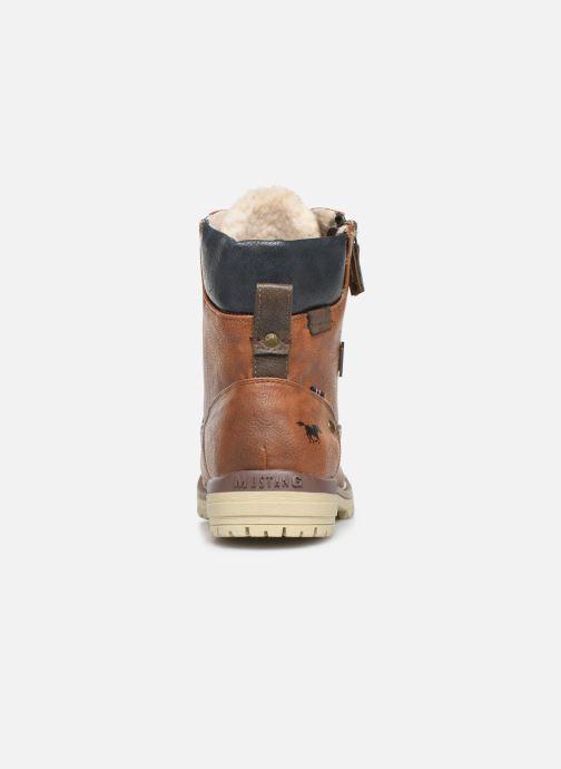 Bottines et boots Mustang shoes 5051608 Marron vue droite