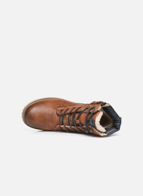 Boots en enkellaarsjes Mustang shoes 5051608 Bruin links