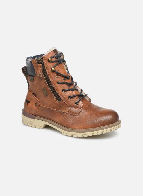 Bottines et boots Mustang shoes 5051608 Marron vue détail/paire