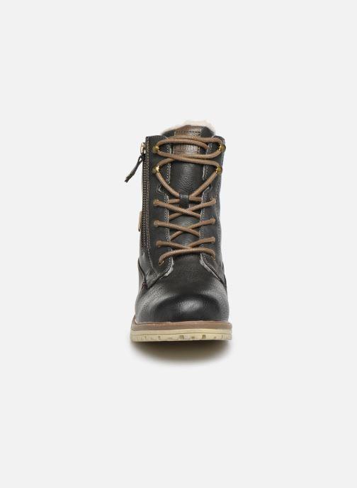 Stiefeletten & Boots Mustang shoes 5051608 grau schuhe getragen