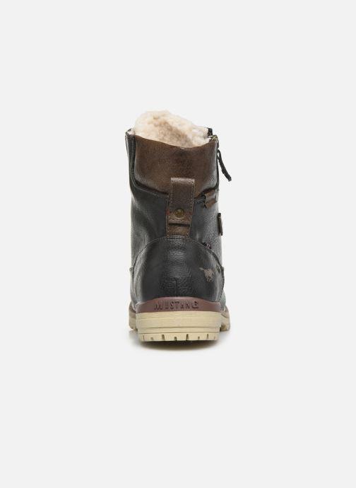 Boots en enkellaarsjes Mustang shoes 5051608 Grijs rechts