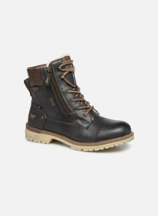 Bottines et boots Mustang shoes 5051608 Gris vue détail/paire