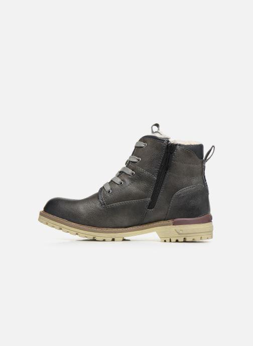 Boots en enkellaarsjes Mustang shoes 5051605 Grijs voorkant