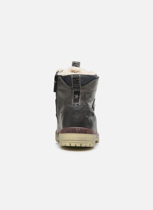 Bottines et boots Mustang shoes 5051605 Gris vue droite