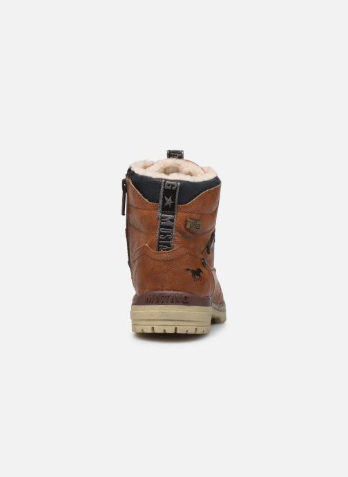 Bottines et boots Mustang shoes 5051605 Marron vue droite