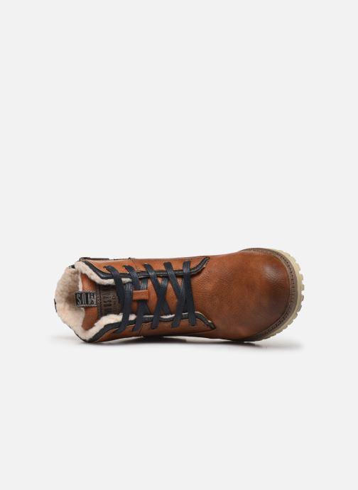 Boots en enkellaarsjes Mustang shoes 5051605 Bruin links