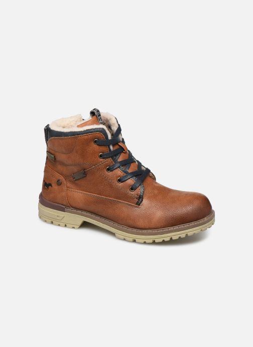 Ankelstøvler Mustang shoes 5051605 Brun detaljeret billede af skoene