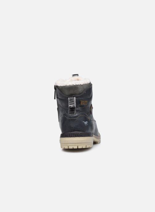 Stivaletti e tronchetti Mustang shoes 5051605 Azzurro immagine destra