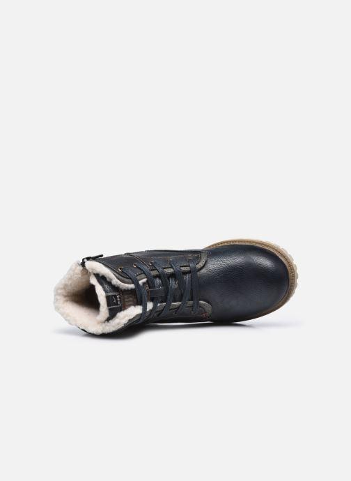 Stivaletti e tronchetti Mustang shoes 5051605 Azzurro immagine sinistra