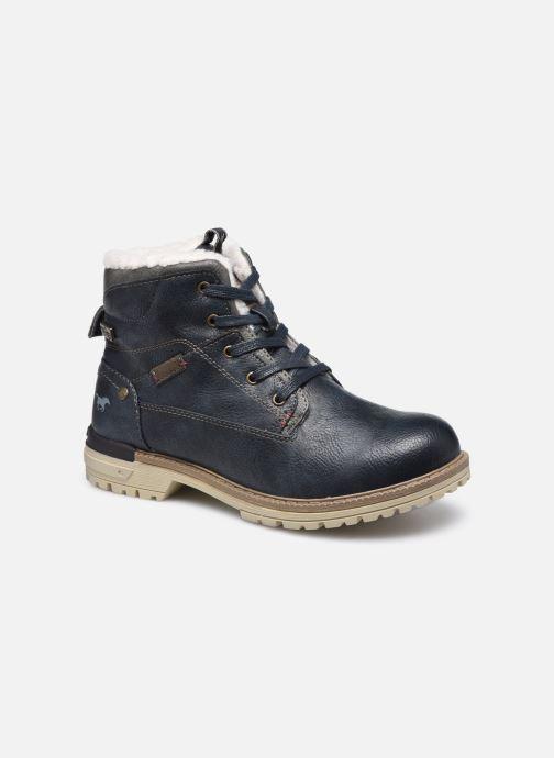 Boots en enkellaarsjes Mustang shoes 5051605 Blauw detail