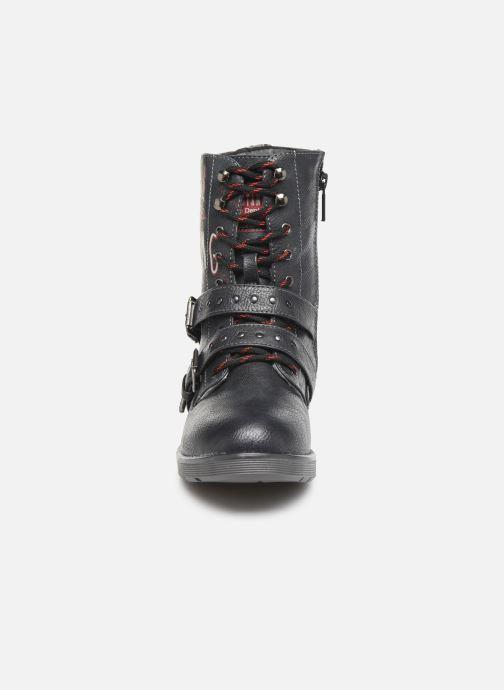 Bottines et boots Mustang shoes 5047605 Bleu vue portées chaussures