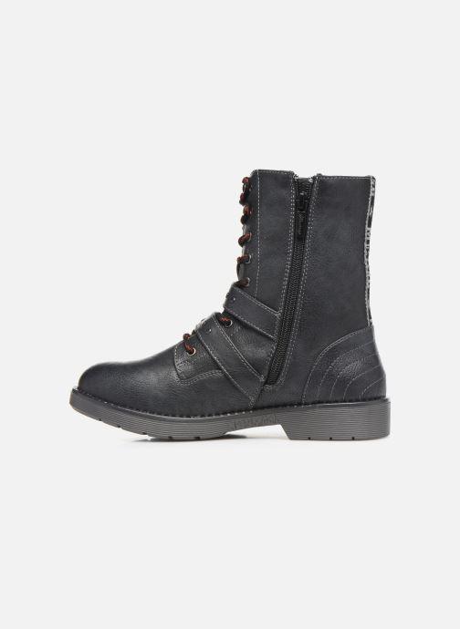 Bottines et boots Mustang shoes 5047605 Bleu vue face