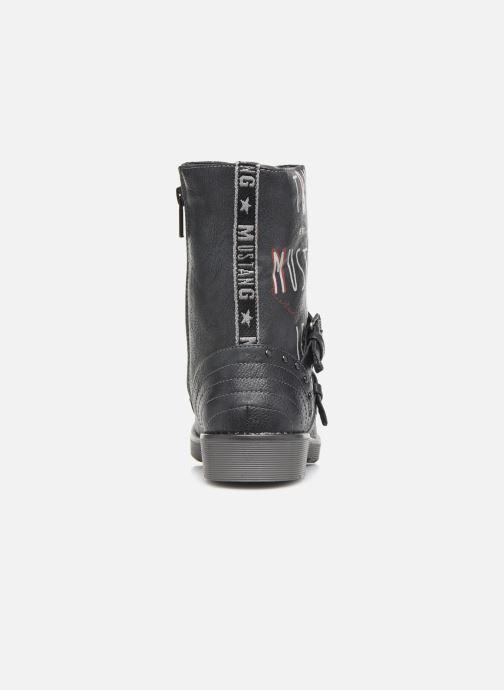 Bottines et boots Mustang shoes 5047605 Bleu vue droite