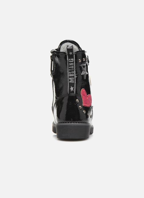 Boots en enkellaarsjes Mustang shoes 5047606 Zwart rechts